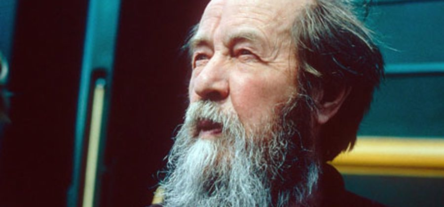 David Remnick Solzhenitsyn being freed from Soviet oblivion