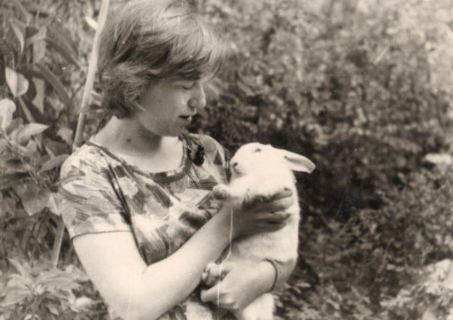 Елена Чуковская. Ливадия. 1962.