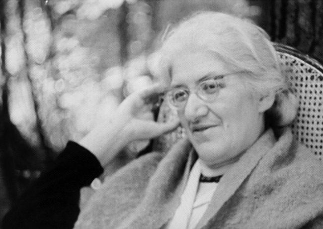 Лидия Чуковская. Переделкино. 1965 год.