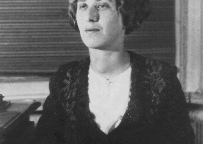 Лидия Чуковская. 1938. Киев. Снимал И.П. Бронштейн.