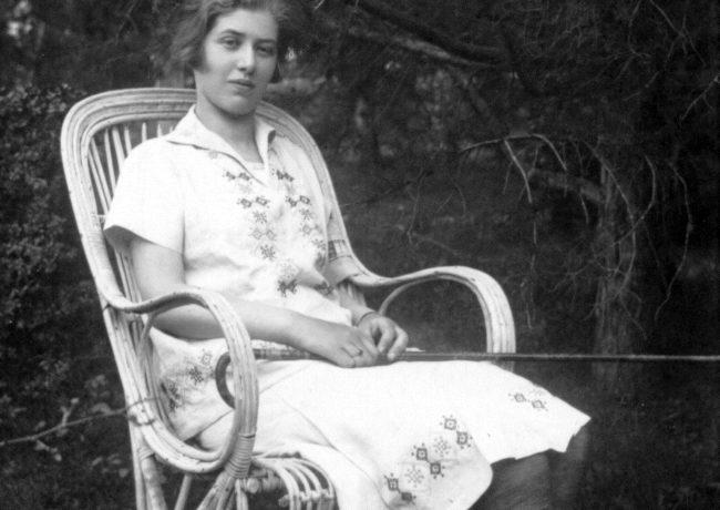 Лидия Чуковская. Симеиз. 5 мая 1929.