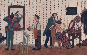Рисунок Юрика Р-ха (10-12 лет) За кулисами
