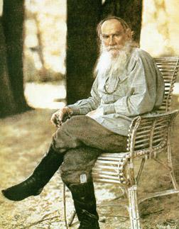 Лев Толстой. Фотография Сергея Михайловича Прокудина-Горского. 1908