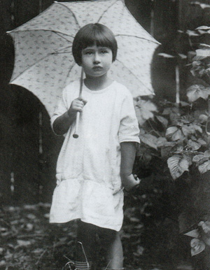 Мура Чуковская, 1924 г. Сестрорецк