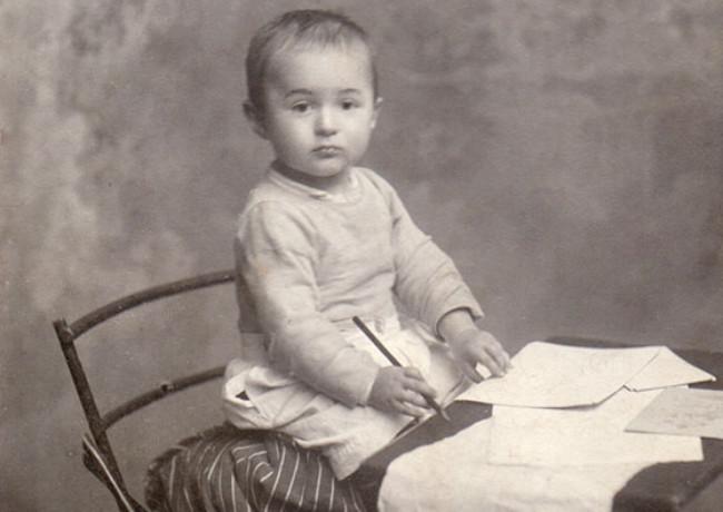 Николай Чуковский. Одесса. 1906 год. Фотография Осипа Вайнштейна.