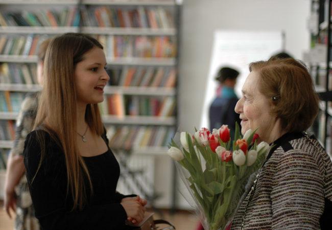 Мария Серебрянская и Е.Ц. Чуковская